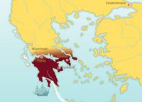 La independencia de Grecia