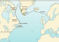 Las rutas del Atlántico norte antes de Cristóbal Colón