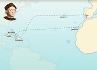 El primer viaje de Cristóbal Colón 1492-1493