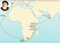 El viaje de Vasco de Gama 1497-1498