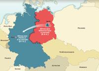La construcción del muro de Berlín