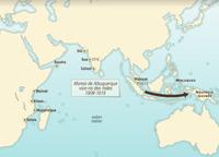 La expansión portuguesa en el océano Índico
