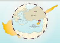 Chipre y la partición de la isla en 1974