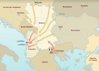 El frente de los Balcanes septiembre-noviembre 1918