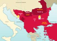 La independencia de los pueblos balcánicos