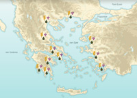 Grecia: el espacio físico