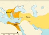 Los reinos helenísticos