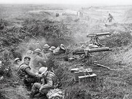 La Primera Guerra mundial, 1914-1918